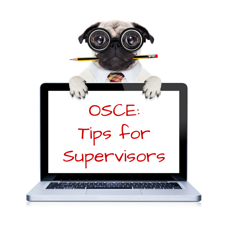 The Idiot's Guide to the OSCE Exam. Part 1 : Tips for Supervisors