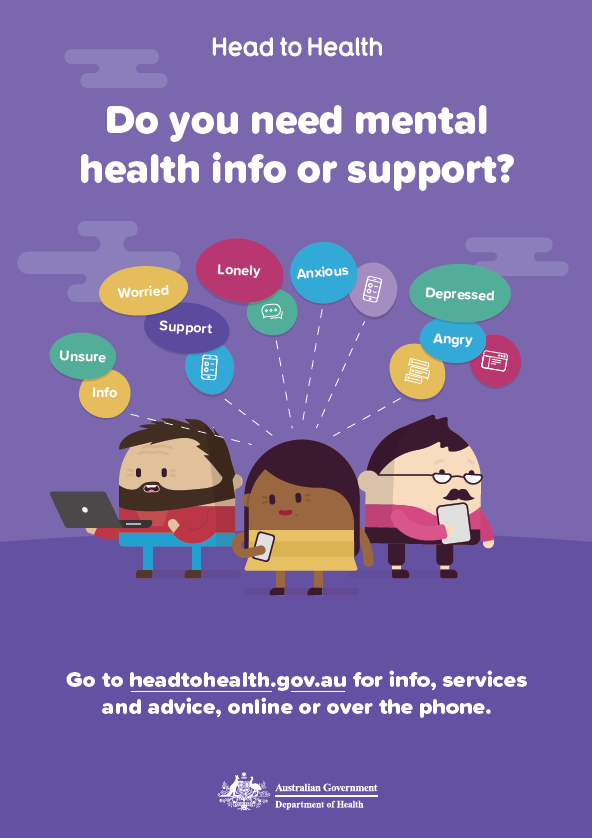 Head to Health – an online pathway to mental health care